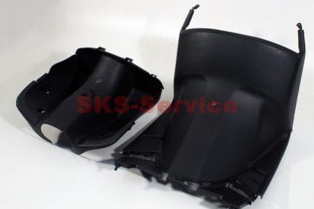 Honda DIO AF-34 пластик - передний надколенный к-кт 2шт