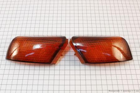 """Honda TACT AF-16 """"стекло""""- поворотов задних к-кт 2шт"""