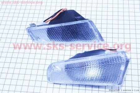 Suzuki ADDRESS V повороты передние в сборе к-кт 2шт