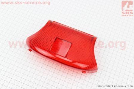 """Suzuki LETS-I/II/III """"стекло""""- стопа"""