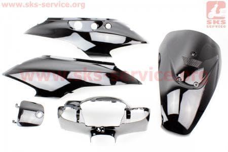 Suzuki LETS-III - пластик - к-кт крашеные 5 деталей