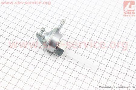 Вакуумный насос под бак, гайка большая для китайских скутеров на двигатель 50-100сс 4-Т