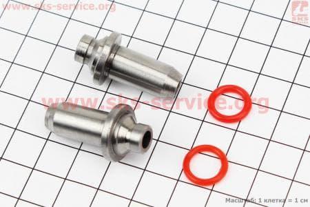 Втулка направляющие клапанов к-кт 2шт для китайских скутеров на двигатель 50-100сс 4-Т