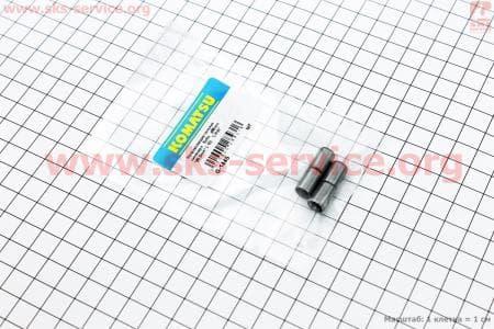 Втулки направляющие цилиндра 8*12 (внутри 7мм) к-кт 4шт для китайских скутеров на двигатель 50-100сс 4-Т