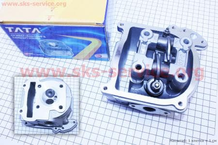 Головка цилиндра+клапана+пастель в сборе 47мм-80cc для китайских скутеров на двигатель 50-100сс 4-Т