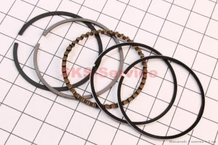 Кольца поршневые 60сс 44мм +0,50 для китайских скутеров на двигатель 50-100сс 4-Т