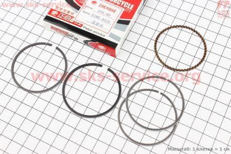 Кольца поршневые 80сс 47мм STD для китайских скутеров на двигатель 50-100сс 4-Т