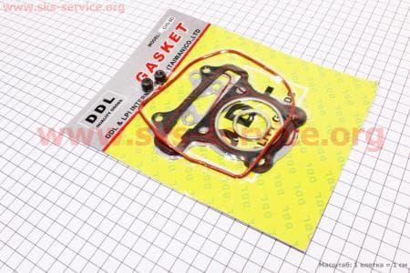 """Прокладки поршневой к-кт 47мм-80cc """"красная нить"""" для китайских скутеров на двигатель 50-100сс 4-Т"""
