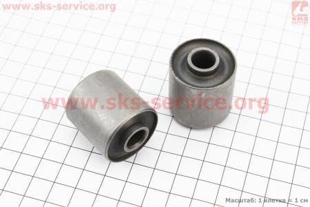Сайлентблок двигателя длинный 30мм (30х35х10) к-кт 2шт для китайских скутеров на двигатель 50-100сс 4-Т