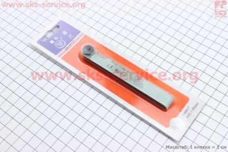 Щупы для регулировки зазоров клапанов  0,02-1,00mm, к-кт для китайских скутеров на двигатель 50-100сс 4-Т