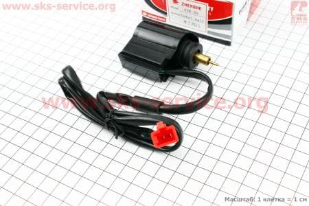 Электромагнитный клапан GY6/DIO для китайских скутеров на двигатель 50-100сс 4-Т