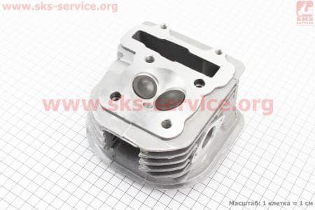 Головка цилиндра+клапана в сборе 150сс WH150 для китайских скутеров на двигатель 125,150сс 4-Т