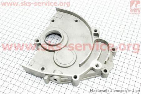 Крышка редуктора для китайских скутеров на двигатель 125,150сс 4-Т
