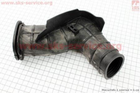 Патрубок фильтра воздушного 125сс для китайских скутеров на двигатель 125,150сс 4-Т
