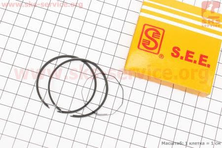 Кольца поршневые 50сс 41мм STD для китайских скутеров на двигатель TB50,65сс 2-T цепной вариатор