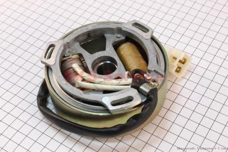 Магнето в сборе для китайских скутеров на двигатель TB50,65сс 2-T цепной вариатор