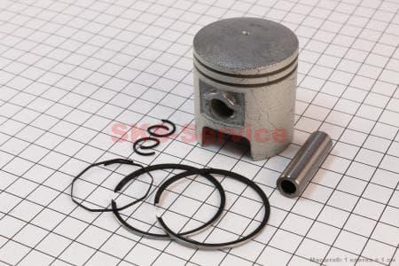 Поршень, кольца, палец к-кт 50сс 41мм STD для китайских скутеров на двигатель TB50,65сс 2-T цепной вариатор
