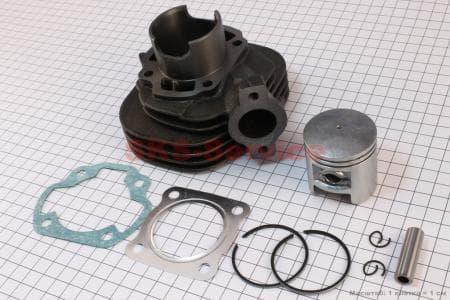 Цилиндр к-кт (цпг) 65сс-43мм для китайских скутеров на двигатель TB50,65сс 2-T цепной вариатор