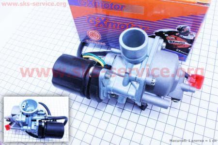 Карбюратор в сборе для китайских скутеров двигатель 2-T ременной вариатор