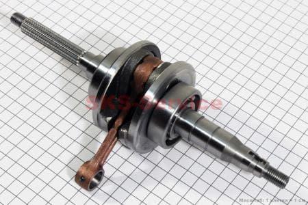 Коленвал (палец 10, 17шлицов) ТА-0050-2т для китайских скутеров двигатель 2-T ременной вариатор