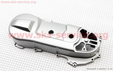 Крышка вариатора тип. 1 для китайских скутеров двигатель 2-T ременной вариатор