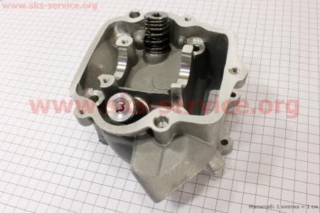 Головка цилиндра + клапана в сборе 250сс для китайских скутеров на двигатель 250сс 4-т водяное охлаждение