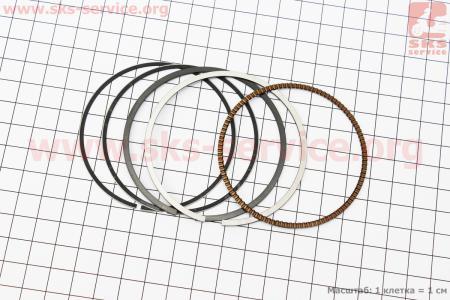 Кольца поршневые для скутера Yamaha MAJESTY 250 69мм +0,25