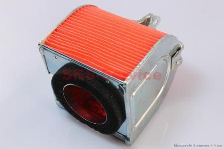 Фильтр-элемент воздушный 250сс для китайских скутеров на двигатель 250сс 4-т водяное охлаждение