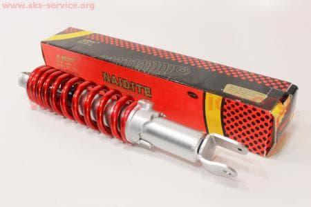 Амортизатор задний 290мм (регулируемый, цвет - красный) для скутеров Wind (Viper) купить в Украине